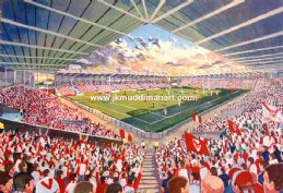 Hand Painted original of langtree park